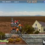 Desert Drit - Jeu de course de moto cross dans le desert. Fun!