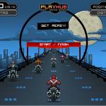 Wicked Rider - Course de moto Old school; Pensez à la nitro!