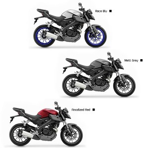 Colories Yamaha MT 125